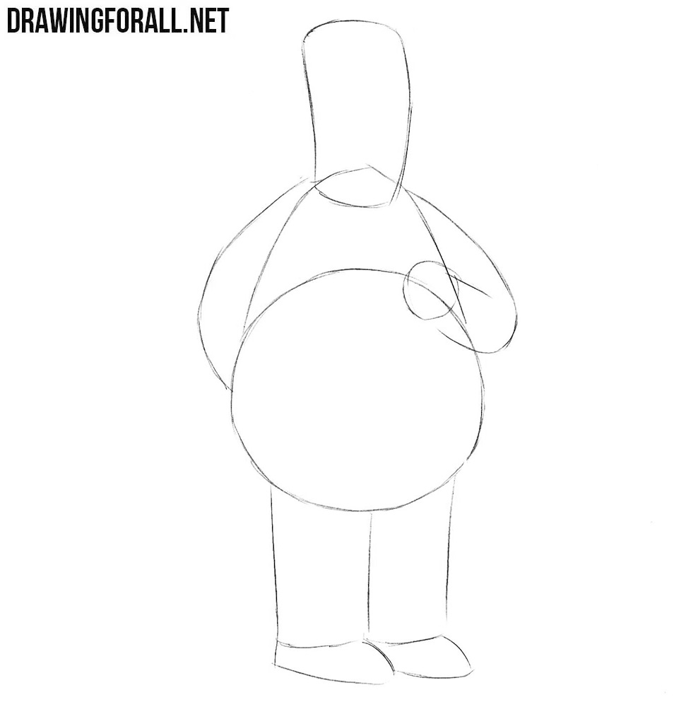 How to draw from the simpsons