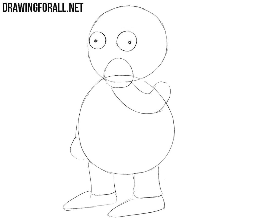 Learn how to draw Ralph Wiggum