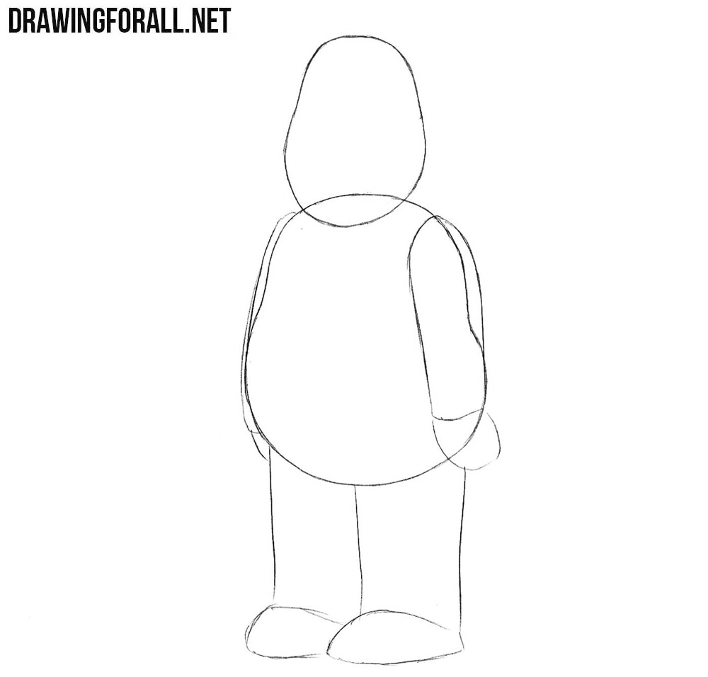 Learn to draw Cleveland Brown