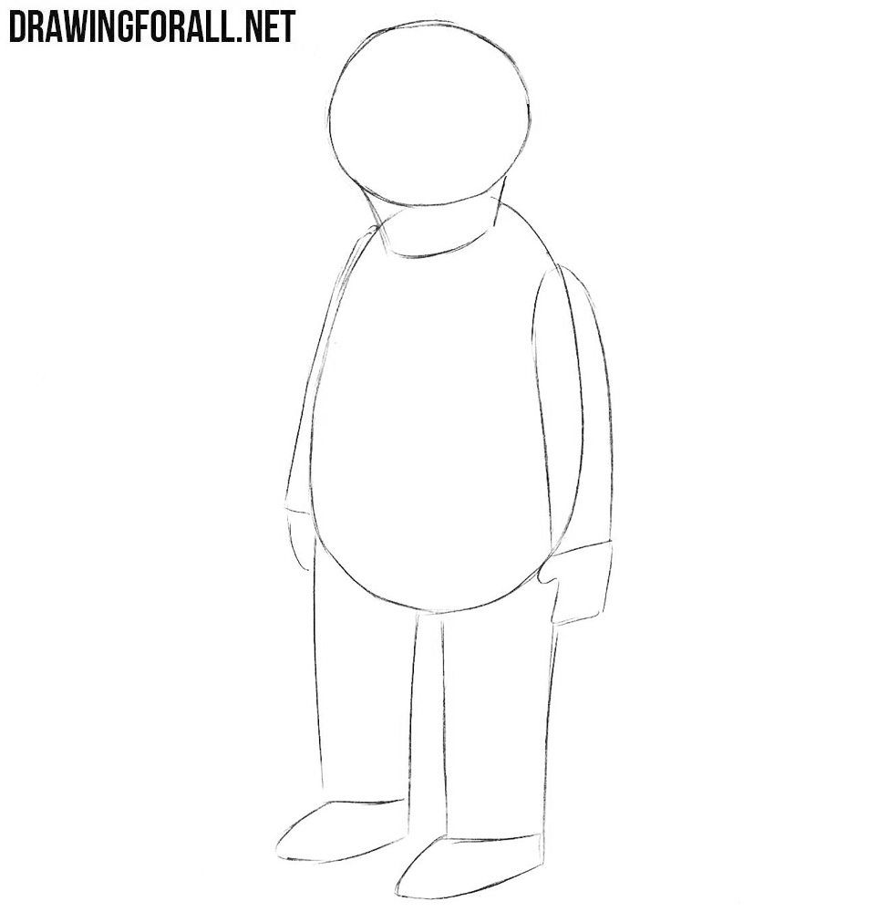 Learn to draw Nick Riviera