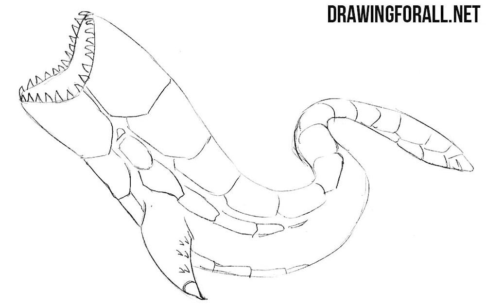 Charybdis drawing tutorial