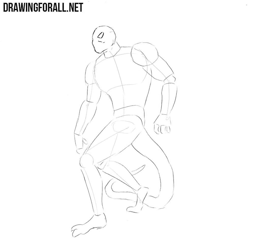 How to draw Blackheart from marvel comics