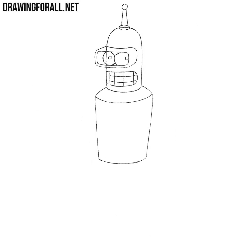 How to draw Futurama characters