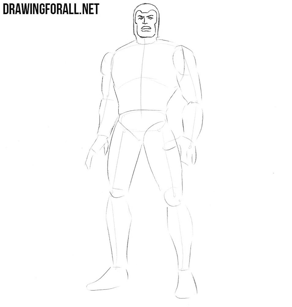 How to draw Multiple Man from marvel