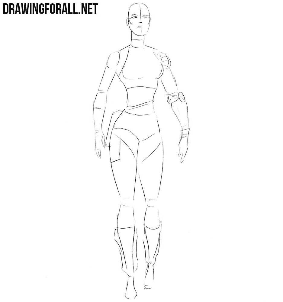 How to draw Nebula from Guardians of Galaxy