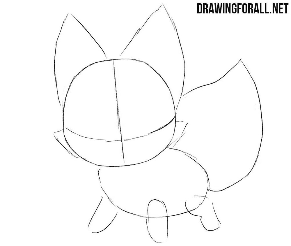 How to draw a chibi animal