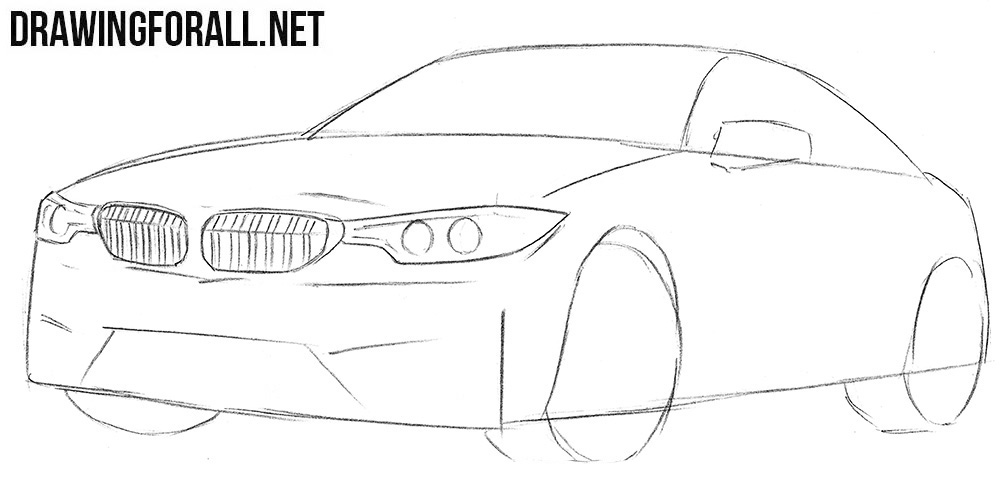 How to draw a cool BMW