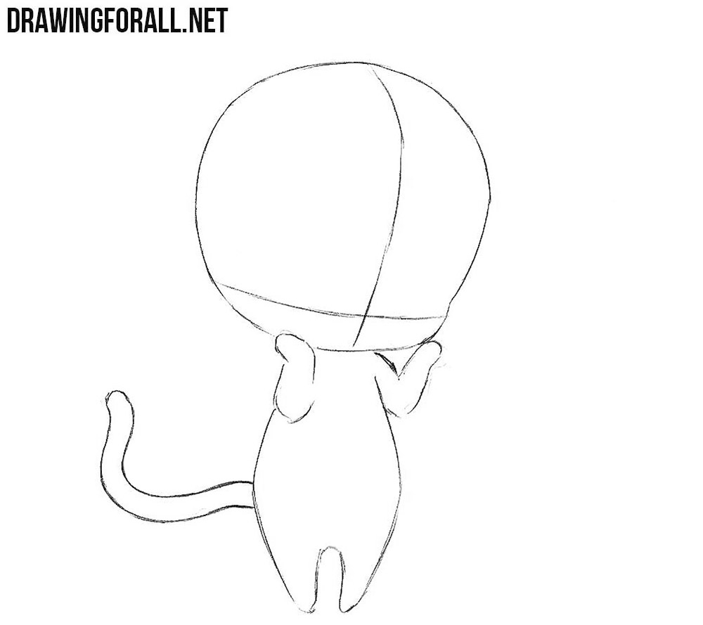 How To Draw A Cute Chibi Easy Drawingforall Net