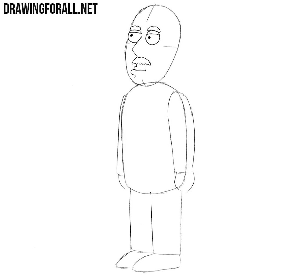 Learn how to draw Carter Pewterschmidt