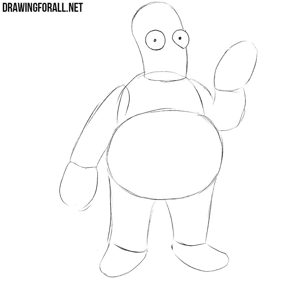 Learn how to draw Dr Zoidberg