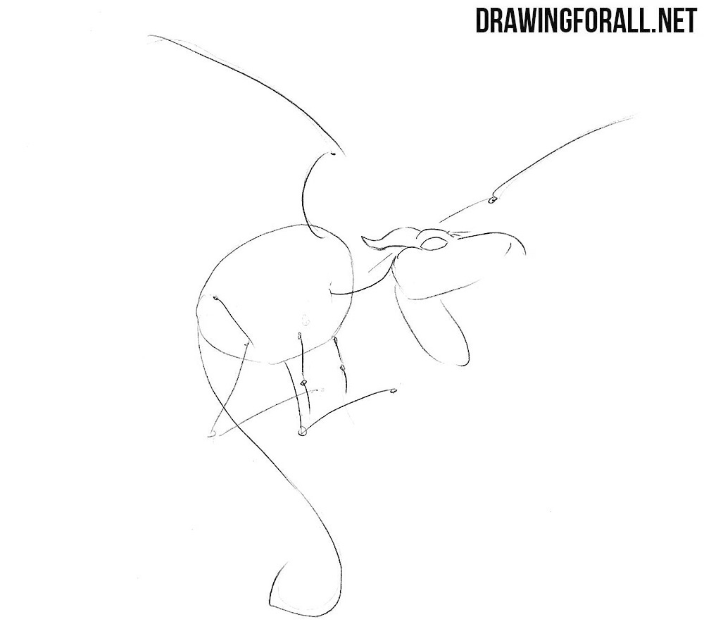 Learn how to draw Lockheed step by step