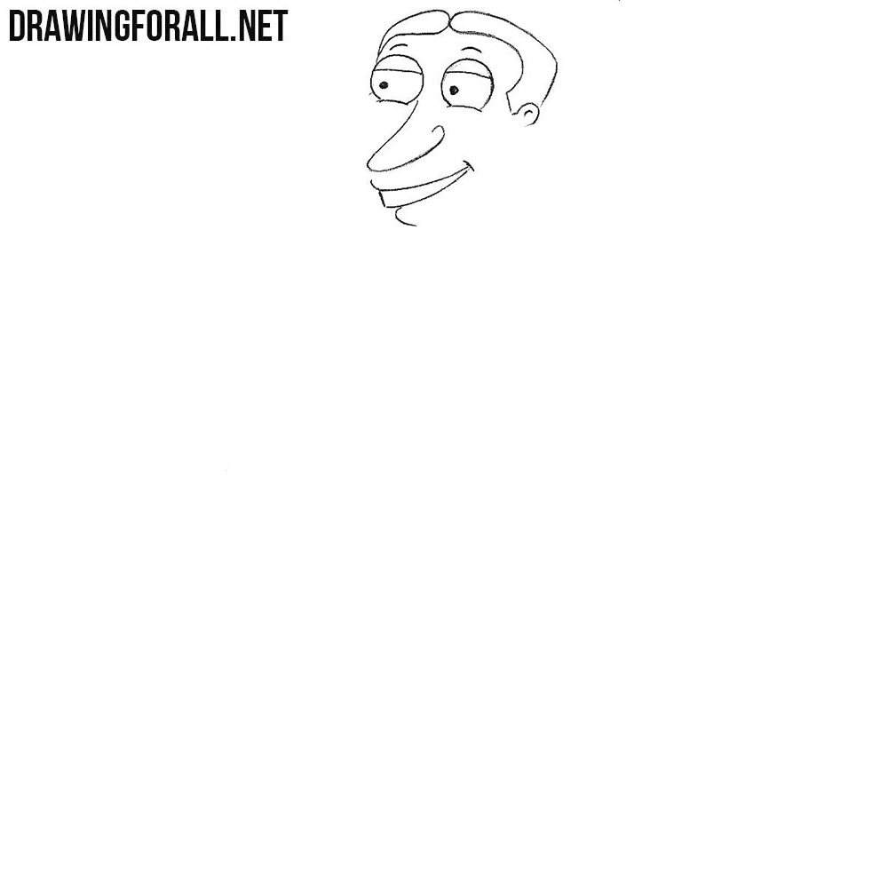 Learn to draw Glenn Quagmire