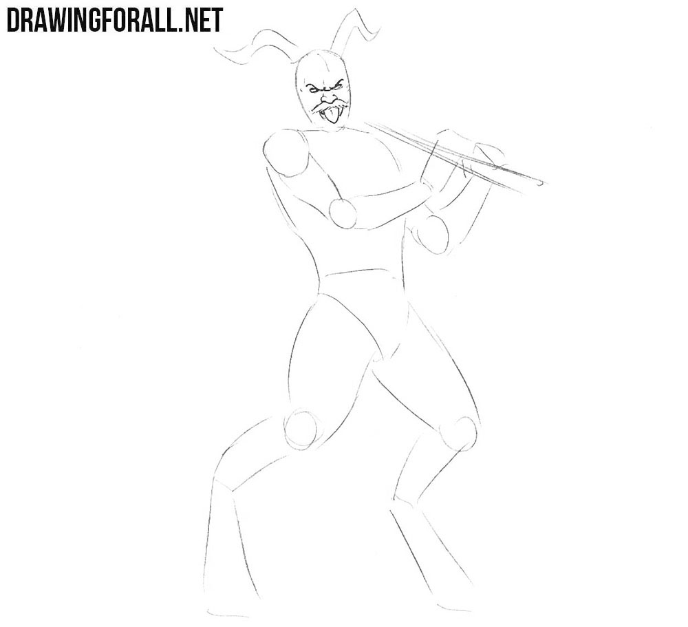 Learn to draw a satyr