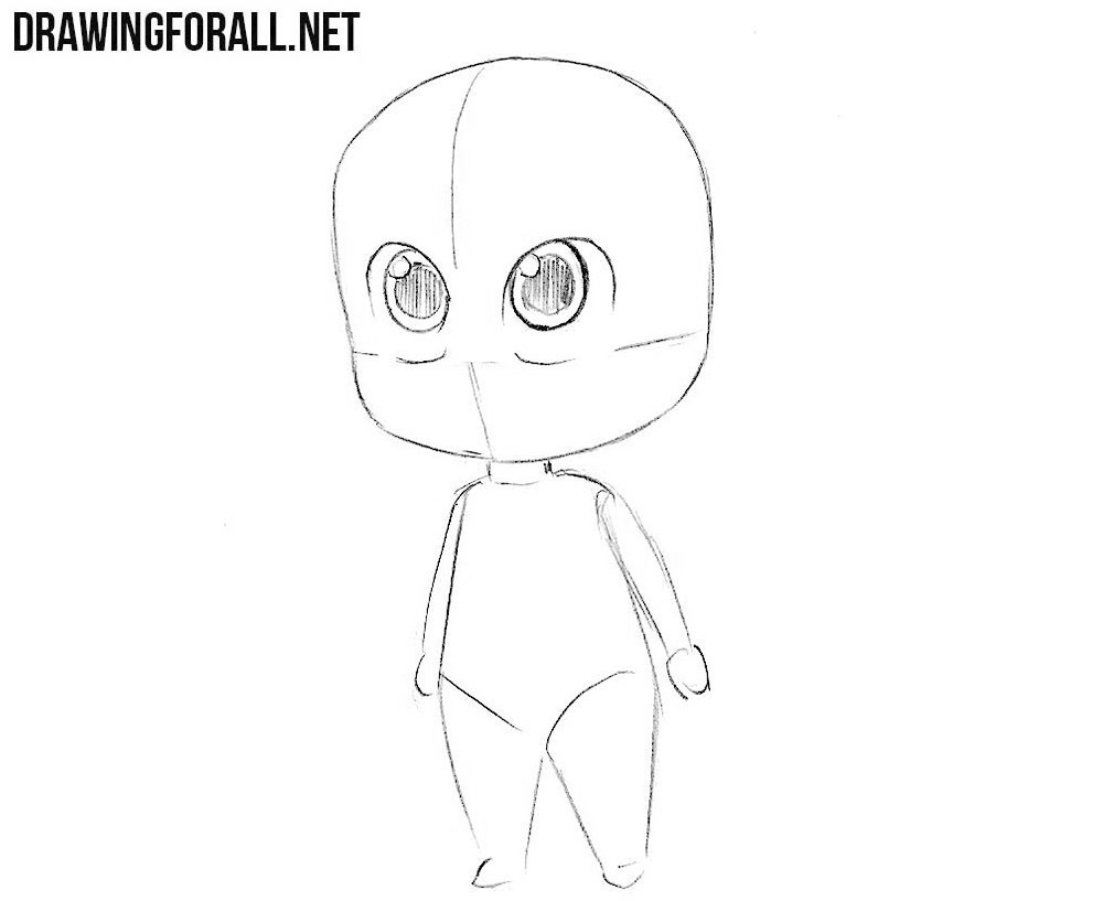 chibi Jayson Vurhiz drawing tutorial