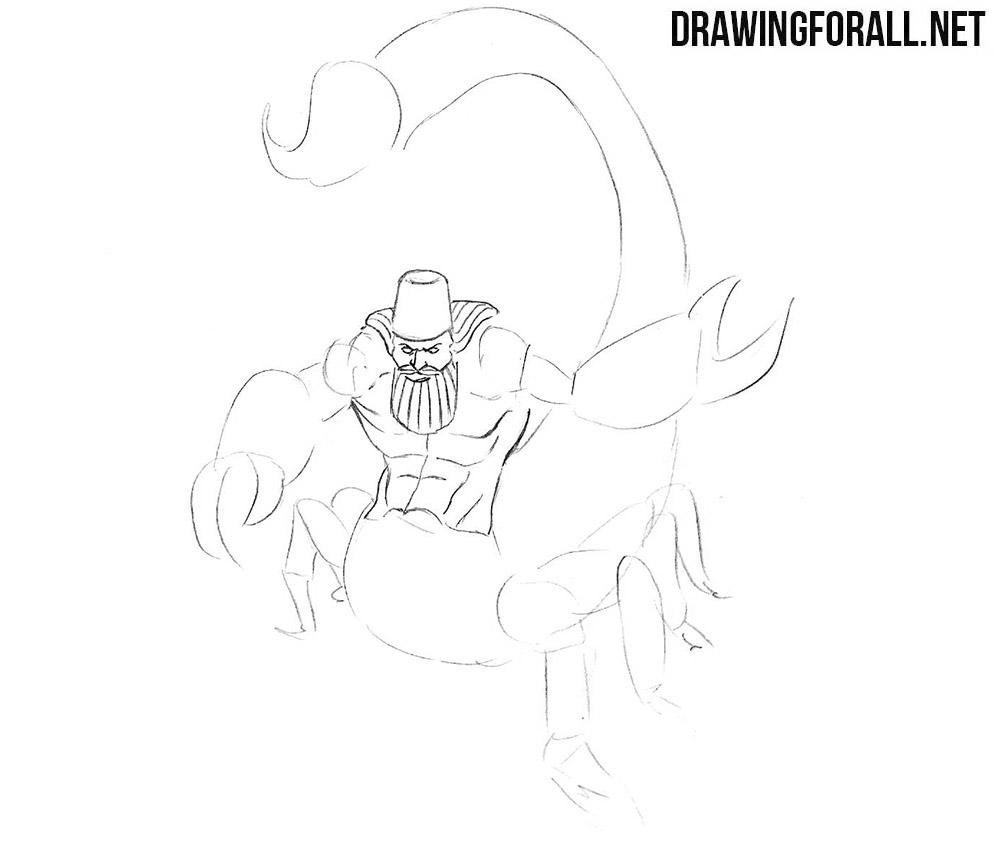 Aqrabuamelu drawing tutorial