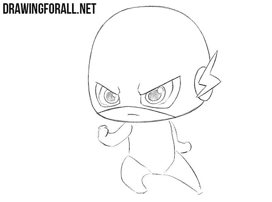 Chibi Flash drawing lesson