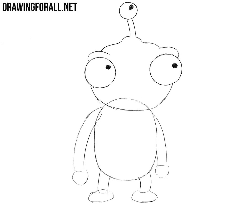 How to draw Lord Nibbler from futurama