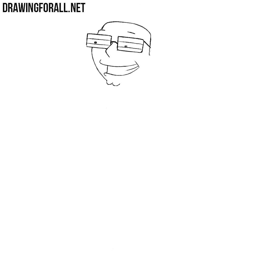 How to draw Steve Smith from american dad