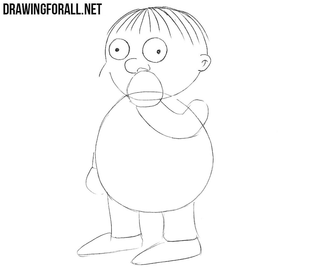 How to sketch Ralph Wiggum