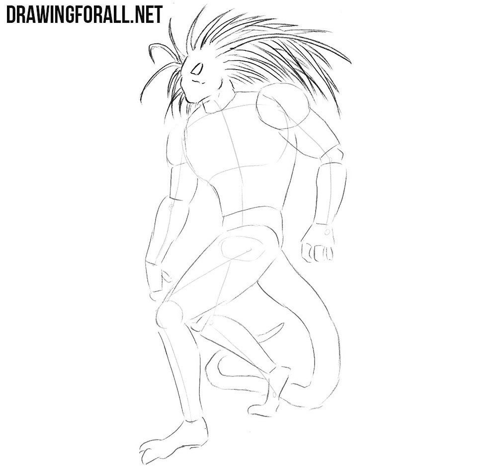 Learn how to draw Blackheart step by step