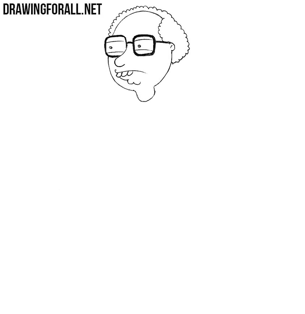 Learn how to draw Neil Goldman