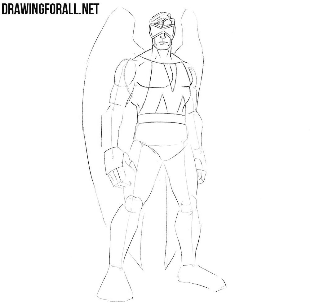 Learn how to draw marvel superhero
