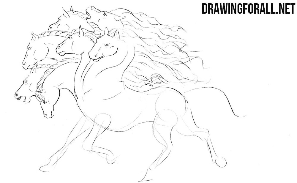 Learn to draw a mythical creature