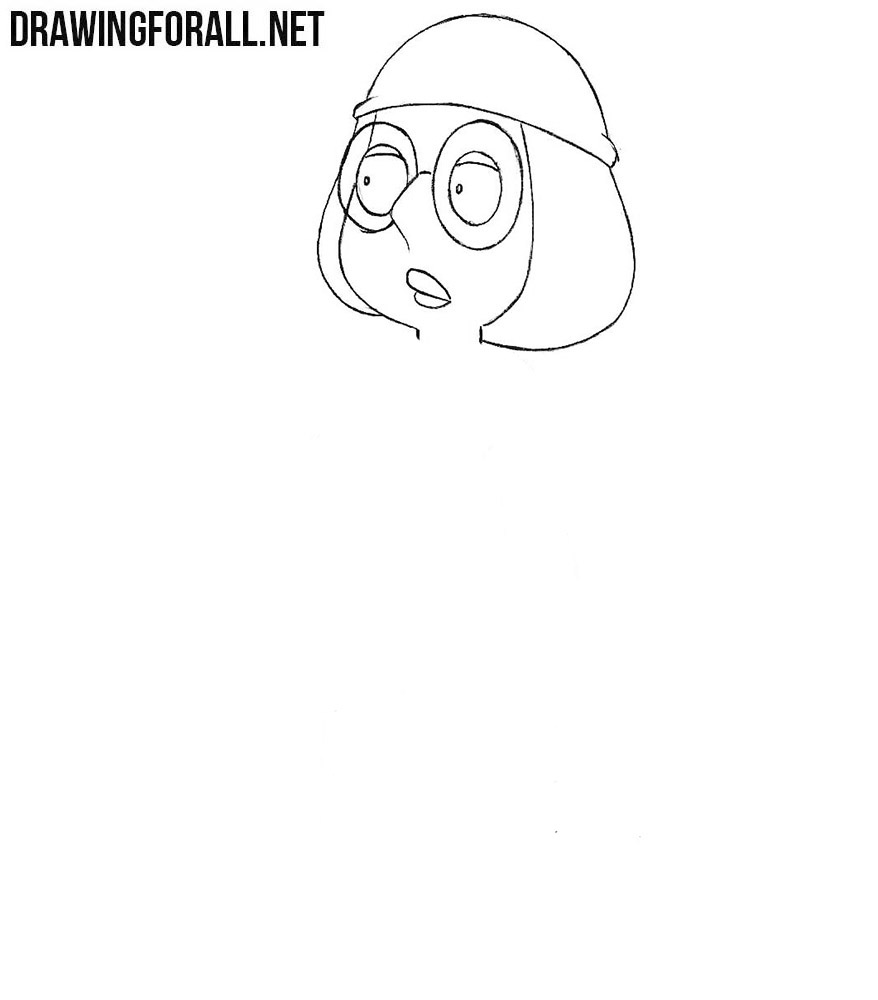 Meg Griffin drawing tutorial