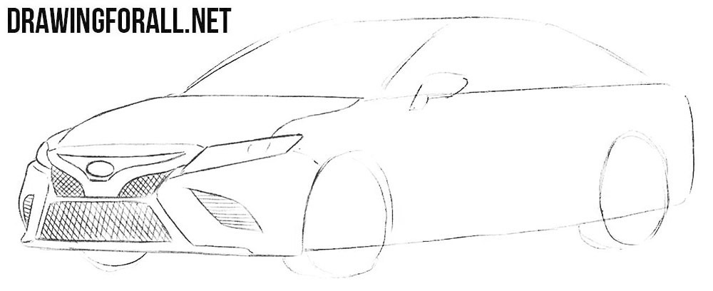 Toyota drawing tutorial