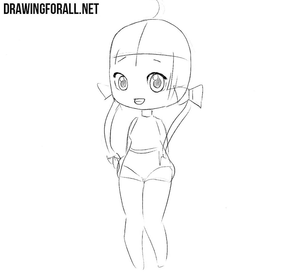 Draw a Beautiful Chibi Girl