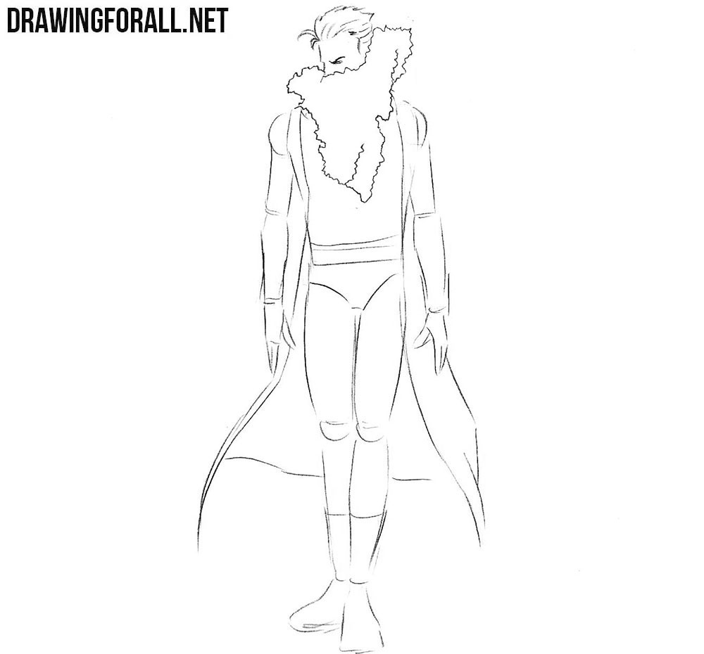 How to draw Chamber from x men