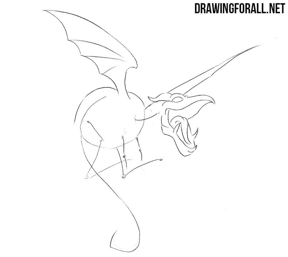 How to draw Lockheed