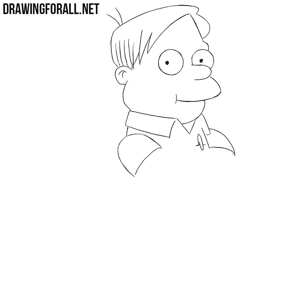 How to draw Martin Prince from the Simpsons