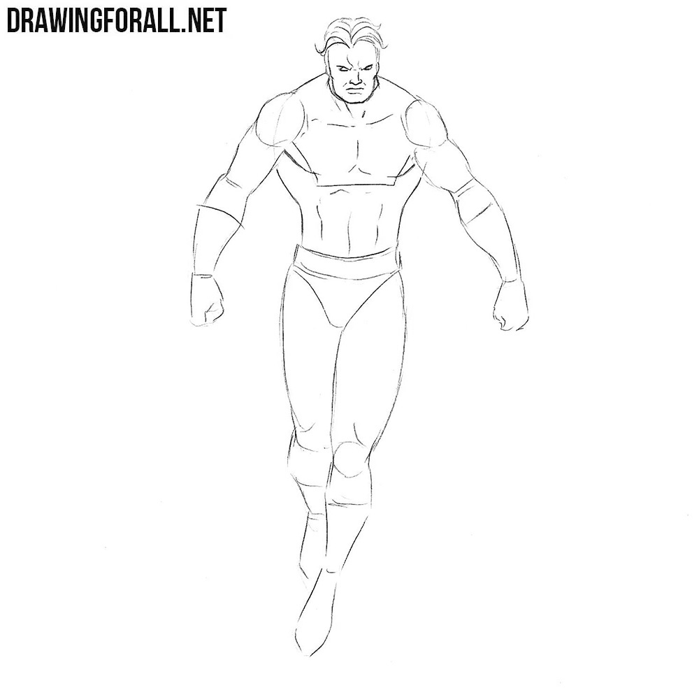 How to draw Vulcan from comics