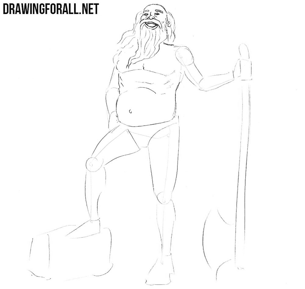 How to draw a slavic legends