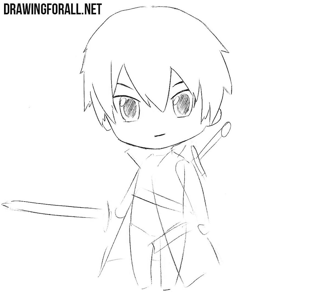How to draw anime chibi