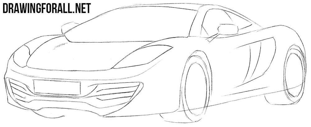 McLaren mp4 insurance