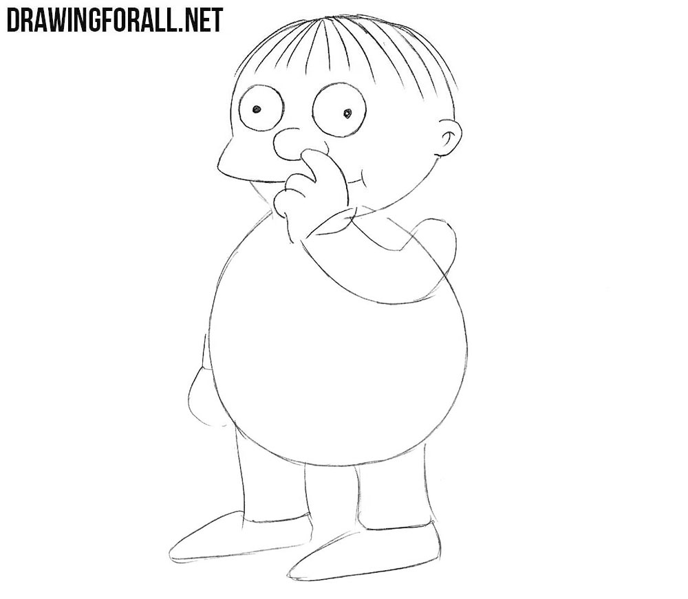 Ralph Wiggum drawing tutorial