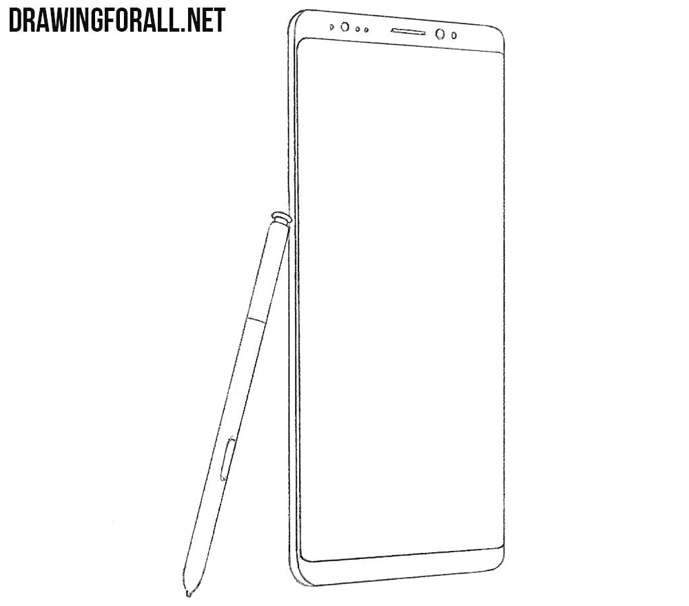 Samsung galaxy note8 drawing tutorial
