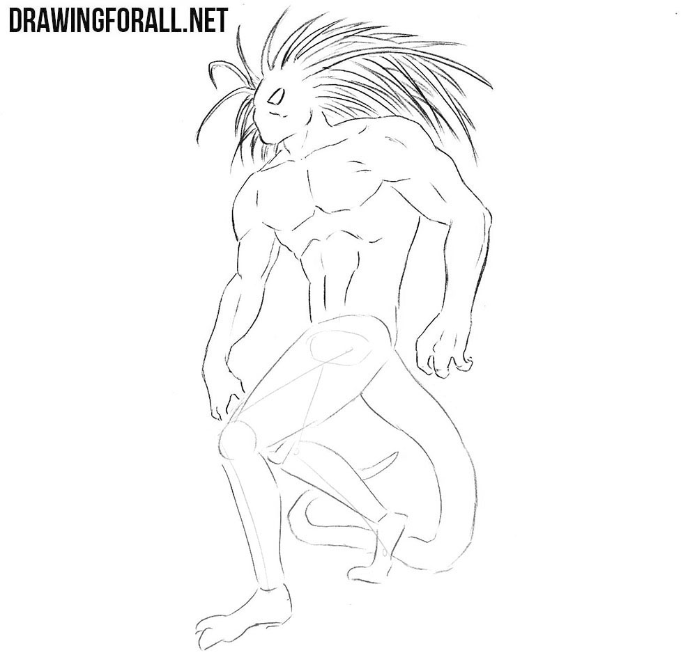 How to draw Blackheart from comics