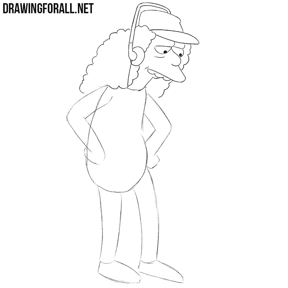 How to draw Otto Mann