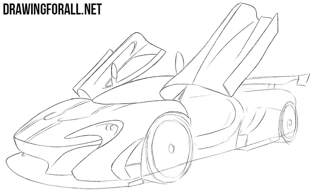 How to draw a McLaren
