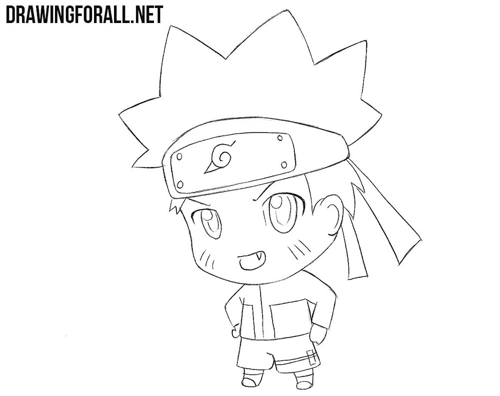 How To Draw Chibi Naruto Drawingforallnet