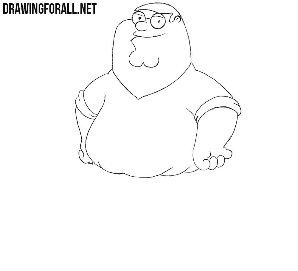 How to draw family guy