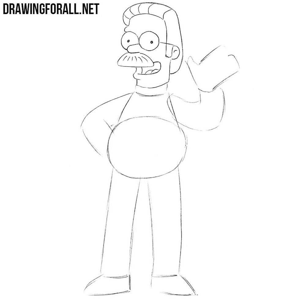 How to draw the simpsons characters