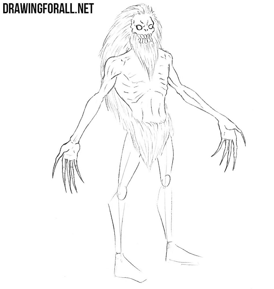How to sketch a Wendigo
