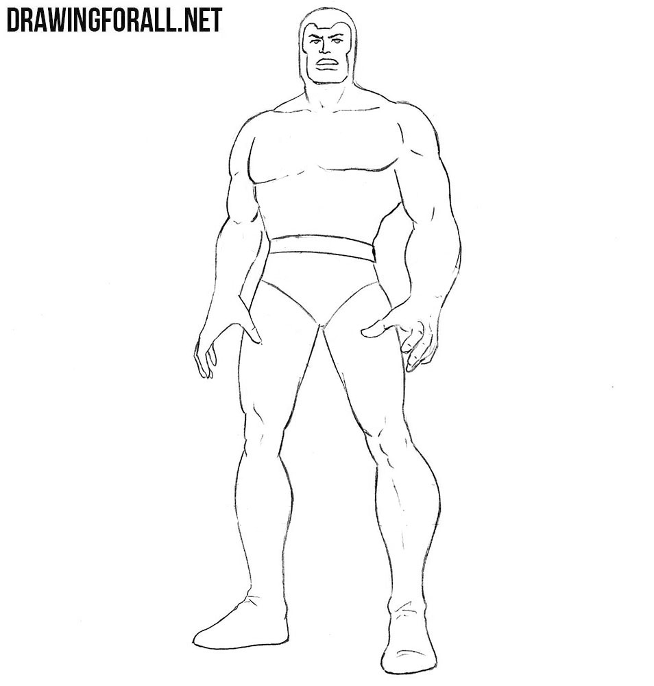 Learn how to draw Multiple Man