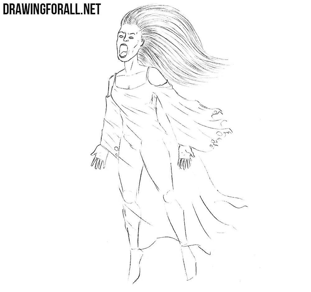 Banshee drawing tutorial