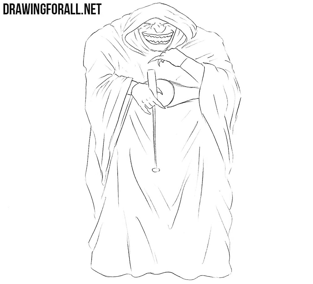 How To Draw A Comic Book Villain Drawingforall Net