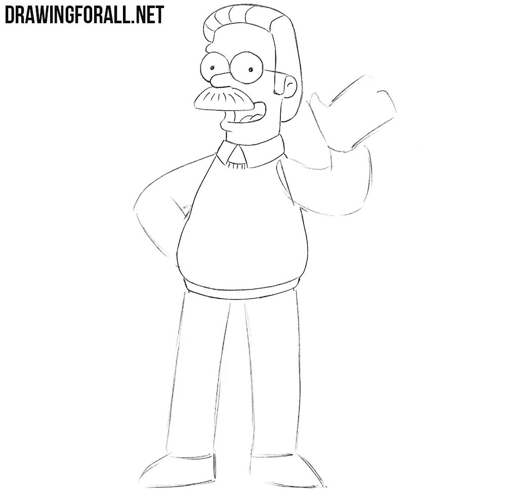 How to draw Flanders